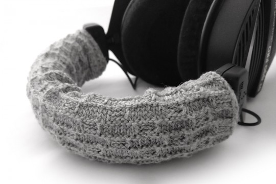 Headphone Headband Cushion Cover - Black or Grey