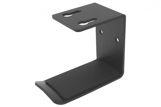 Black Headphone Hanger Stand for Desk or Wall