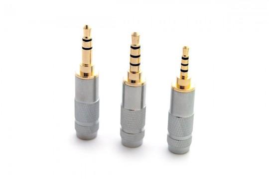 3.5mm TRS / 3.5mm TRRS / 2.5mm TRRS DIY Jack