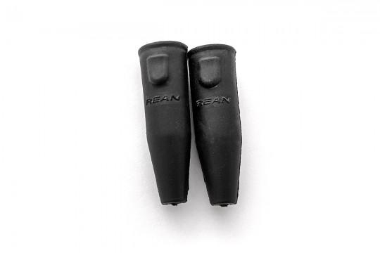 Neutrik Rean Female Mini-XLR Black Sleeve Cover Pair