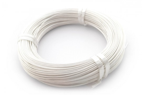 25cm Teflon PTFE Coated Silver Plated Copper Wire (20/22AWG)