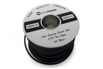 PRO-POWER 4-Core Screened Cable Wire 1m Lot