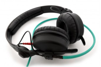 Sennheiser HD25-II Headphones with Modified Cable and Drivers