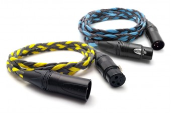 OIDIO Mongrel XLR Interconnect Cable Pair