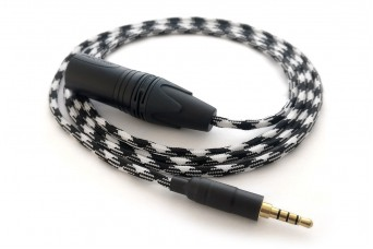 Ready-made OIDIO Pellucid-PLUS Cable for Oppo PM-3 & Fostex T60RP - 1.5m XLR