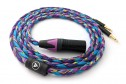 Ready-made OIDIO Mongrel Cable for Dual 3.5mm Headphones - 1.5m XLR
