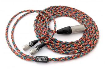Ready-made OIDIO Mongrel Cable for Dan Clark Audio Aeon, Alpha & Ether Headphones - 2.5m XLR