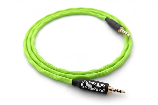 Ready-made OIDIO Pellucid-PLUS Cable for Oppo PM-3 & Fostex T60RP - 1m 2.5mm TRRS