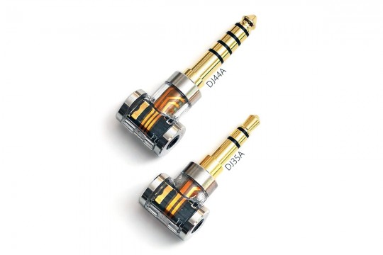 ddHiFi DJ35A / DD44A Adapter - 2.5mm Female to 3.5mm / 4.4mm Male